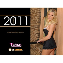2011 Boost Bunny Calendar featuring Trisha Smith