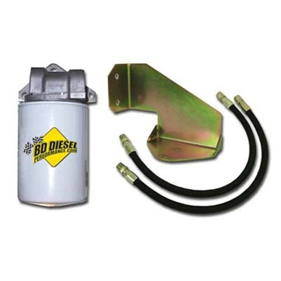 BD Power 1064017 Inline Transmission Filter Kit 1994-2007 Dodge 5 9L  Cummins w/47RH, 47HE and 48RE Transmissions