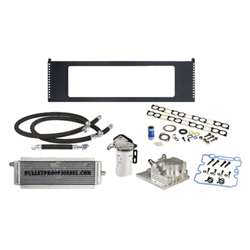 Bullet Proof Diesel 90402000 Square Style EGR Cooler and OE Oil Cooler System 2004-2007 Ford 6.0L Powerstroke