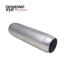 "Diamond Eye 400400 4"" Aluminized Quiet Tone Resonator"