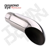 "Diamond Eye 4418TD 4"" Turn Down Exhaust Tip"