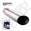 "Diamond Eye 5618BAC 6"" Bolt-On Angle Cut Exhaust Tip"