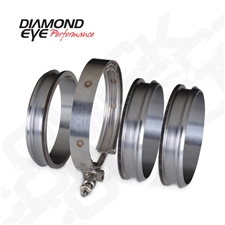 "Diamond Eye QC500-3 5"" Quick Connect Couplers"