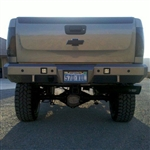Fusion Bumpers FB-0710CHVRB Chevy Duramax Rear Bumper for 2007.5-2010 Chevy Duramax 6.6L Diesel Trucks