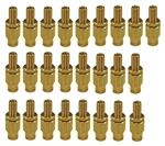 Firestone 3032 25 Inflation Valves, 1/4 Inch Tubing Universal