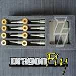 Industrial Injection 0433171924DFLY 50 HP DragonFly Injector Nozzles 2006-2007 GM 6.6L Duramax