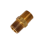 "Kleinn Automotive Air Horns 51414N Hex Male Nipple 1/4"" to 1/4"" M NPT"