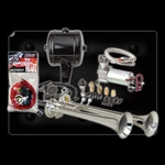 Kleinn Automotive Air Horns HK2 Complete Dual Truck Air Horn Package