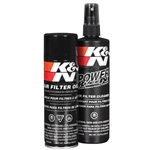 K&N 99-5000 Power Kleen Air Filter Cleaner Degreaser and Aerosol Filter Oil Spray
