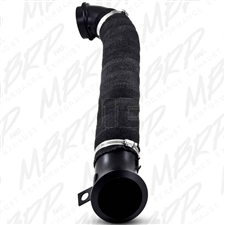 "MBRP GM8424 3"" Black Coated Aluminized Down Pipe for 2004.5-2009 GM Duramax LLY, LBZ, LMM"