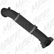 "MBRP GM8428 3"" Black Coated Aluminized Down Pipe for 2015-2016 GM 6.6L Duramax LML"