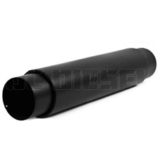 "MBRP M2050BLK 5"" Black Coated Aluminized Muffler"