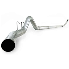 "MBRP S6100SLM 4"" Turbo Back Single Side Stainless T409 Exhaust for 1994-2002 Dodge 5.9L Cummins"
