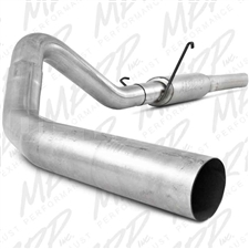 "MBRP S6108P 4"" Cat Back Single Side Aluminized Exhaust for 2004.5-2007 Dodge 5.9L Cummins"