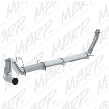 "MBRP S61120SLM 5"" Turbo Back Single Side Stainless T409 Exhaust for 1994-2002 Dodge 5.9L Cummins"