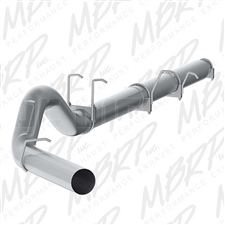 "MBRP S62260PLM 5"" Cat Back Single Side Aluminized Exhaust for 2003-2007 Ford 6.0L Powerstroke"