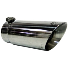 "MBRP T5110 4"" Dual Wall Angle Cut Stainless T304 Exhaust Tip"