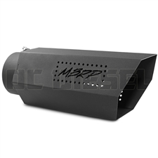 "MBRP T5167BLK 6"" Hex Cut Black Coated Sainless T409 Exhaust Tip"