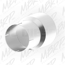 MBRP UA9001 Stainless T409 Exhaust Pipe Adapter, 4 to 5 Inch
