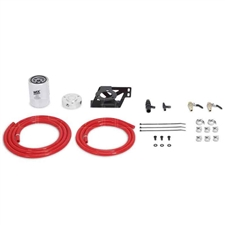 Mishimoto MMCFK-F2D-08RD Coolant Filter Kit Red for 2008-2010 Ford 6.4L Powerstroke