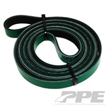 PPE Diesel 113061087 Heavy Duty Dual Fueler Serpentine Belt 2001 GM 6.6L Duramax