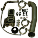 PPE Diesel 1160060 GT42R Series Turbo Installation Kit 2001-2007 GM 6.6L Duramax