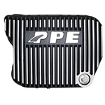 PPE Diesel 228051010 Brushed Deep Tranmission Pan 2002-2007 Dodge 5.9L Cummins