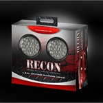 Recon 264152CL Running Light Daytime Round Style Clear