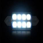 Recon 264222WH Dome Map Light Bulb 578/364 Festoon Style Resisted Ultra-High Power 3-Watt S.M.D. Style