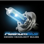 Recon 264H3PB Xenon Headlight Bulb H3 Platinum Blue