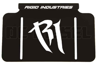 Rigid Industries 40016 License Plate Mount