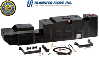 Transfer Flow 080-BL-15159 60 Gallon Midship Replacement Fuel Tank for 2011-2016 GM 6.6L Duramax LML