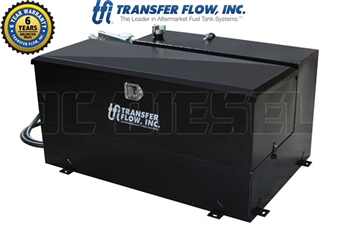 Transfer Flow 080-BL-15457 100 Gallon L-Shaped Toolbox Refueling Tank System