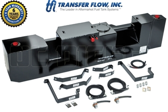 Transfer Flow 080-BL-15807 50 Gallon Midship Replacement Fuel Tank for 2007-2017 Dodge 6.7L Cummins