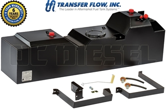 Transfer Flow 080-BL-16275 50 Gallon Midship Replacement Tank for 2011-2016 Ford 6.7L Powerstroke