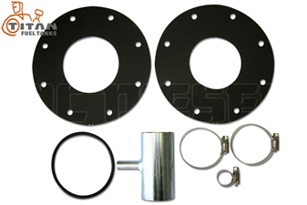Titan Fuel Tanks 0199003 LB7 Adaption KIT for 2001-2004 GM Duramax LB7