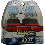 Vision X VX-D9007 Halogen Bulb Set 9007 55/65 Watt Hi/Low Beam Dot Approved Superwhite