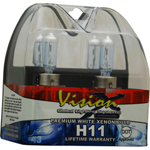 Vision X VX-DH11 Halogen Bulb Set H11 55 Watt Low Beam Dot Approved Superwhite