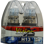 Vision X VX-DH13 Halogen Bulb H13 60/55 Watt Hi/Low Beam Dot Approved Superwhite