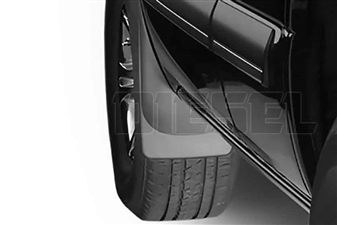 WeatherTech 110006 Front MudFlaps for 2001-2007 GM 6.6L Duramax LB7, LLY, LBZ