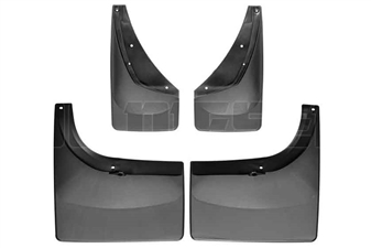WeatherTech 110006-120027 MudFlaps Set for 2001-2007 GM 6.6L Duramax LB7, LLY, LBZ
