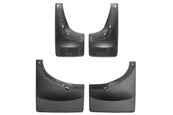 WeatherTech 110011-120025 MudFlaps Set for 2007-2014 GM 6.6L Duramax LMM, LML