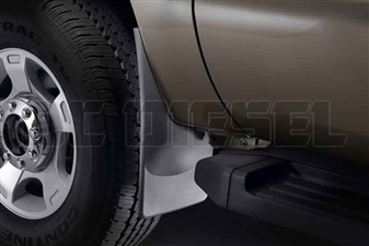 WeatherTech 110020 Front MudFlaps for 2011-2016 Ford 6.7L Powerstroke