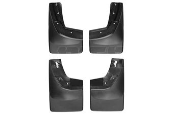 WeatherTech 110035-120035 MudFlaps Set for 2014-2017 GM 6.6L Duramax LML, LP5