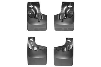 WeatherTech 110052-120052 MudFlaps Set for 2015-2017 GM 2.8L Duramax LWN
