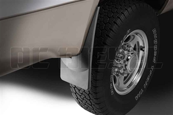 WeatherTech 120001 Rear MudFlaps for 1999-2010 Ford 7.3L, 6.0L, 6.4L Powerstroke