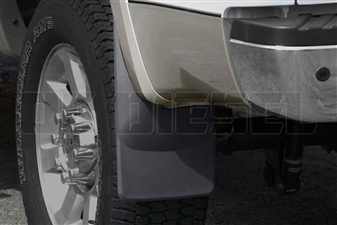 WeatherTech 120008 Rear MudFlaps for 2008-2010 Ford 6.4L Powerstroke