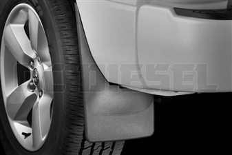 WeatherTech 120024 Rear MudFlaps for 2010-2017 Dodge 6.7L Cummins