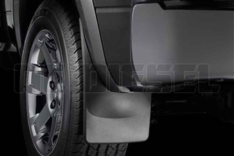WeatherTech 120026 Rear MudFlaps for 2010-2017 Dodge 6.7L Cummins