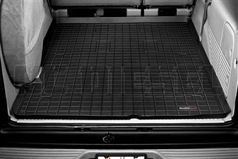 WeatherTech 40154 Black Cargo Liners for 2000-2005 Ford 7.3L, 6.0L Powerstroke